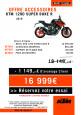 OFFRE KTM 1290 SUPER DUKE R, ACCESSOIRES OFFERTS !